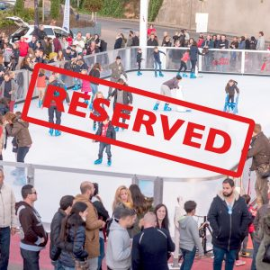 Reserve your synthetic ice rink.