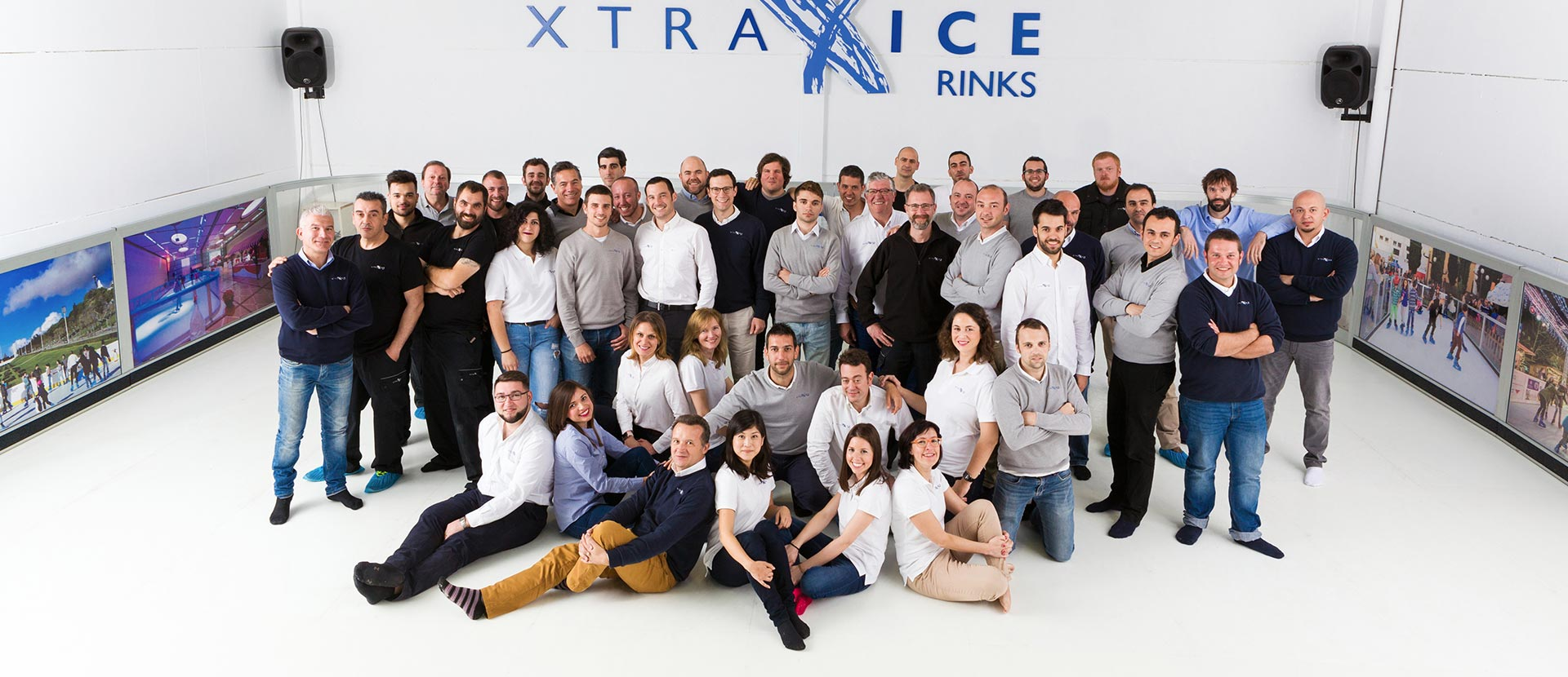 Ice rink buider, Xtraice team members