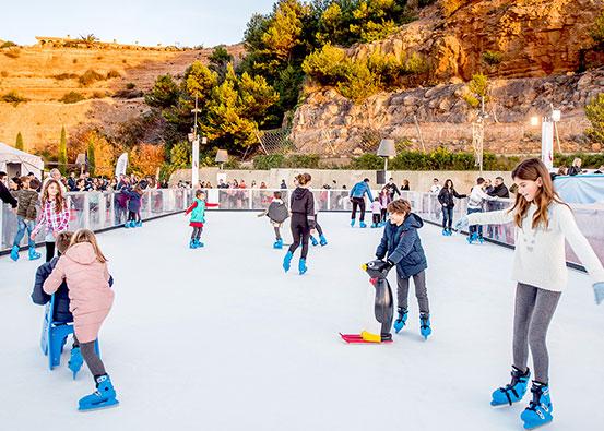 Een ijsbaan als dagje uit / de beste ecologische attractie