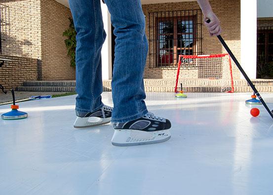 Comment faire une patinoire à la maison