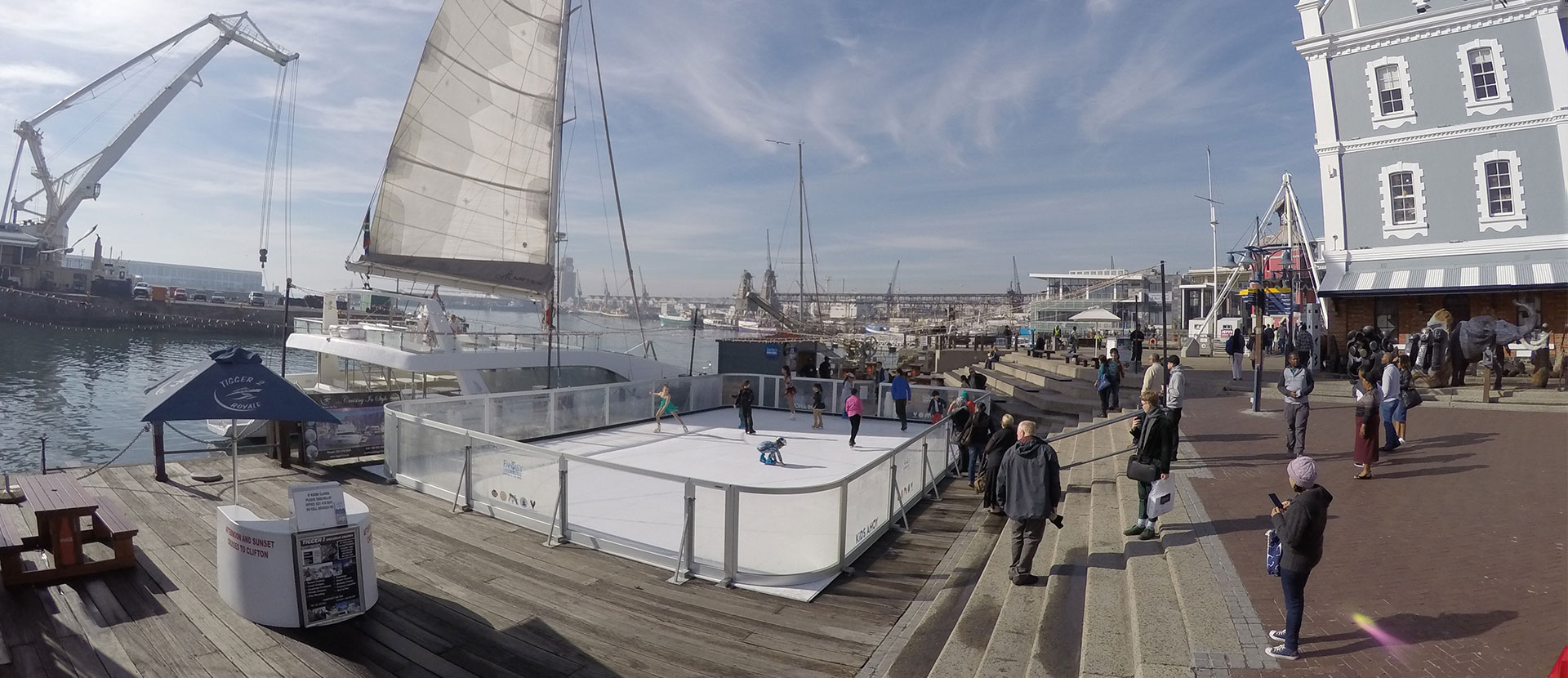 Avis sur Xtraice et ses patinoires en glace synthétique