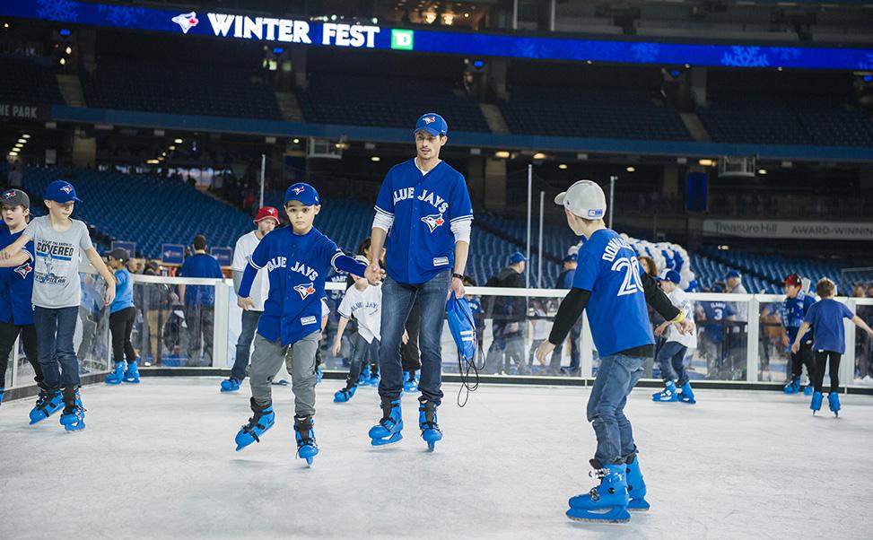 Pista di ghiaccio sintetico per festival sportivi