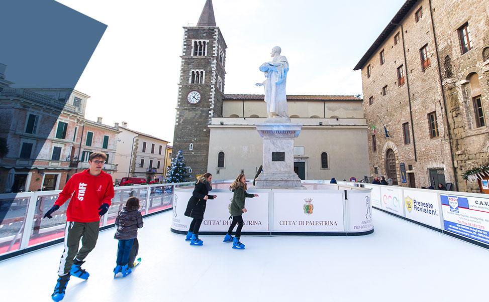 Pista di pattinaggio a Natale | Vuoi noleggiare una pista di ghiaccio?