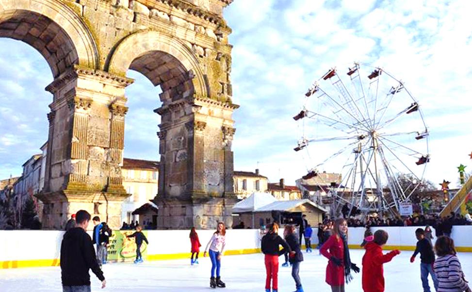 Piste di pattinaggio sul ghiaccio usate Xtraice