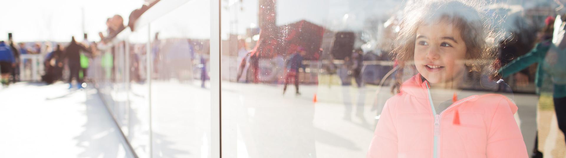 Plastieke ijsbaan van Xtraice
