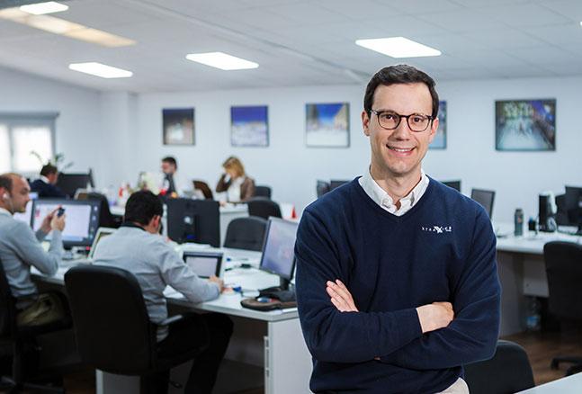 CEO da Xtraice, Adrián Ortiz Rivera