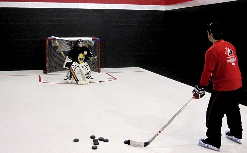 Xtraice Trainingsfläche für Eishockey