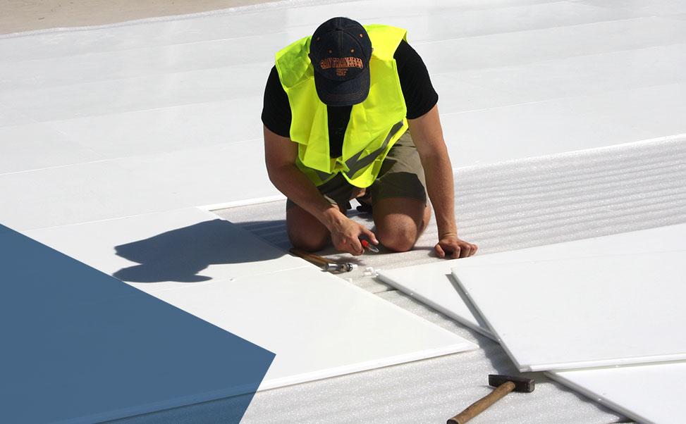 Construcción de pista de hielo sintético Xtraice