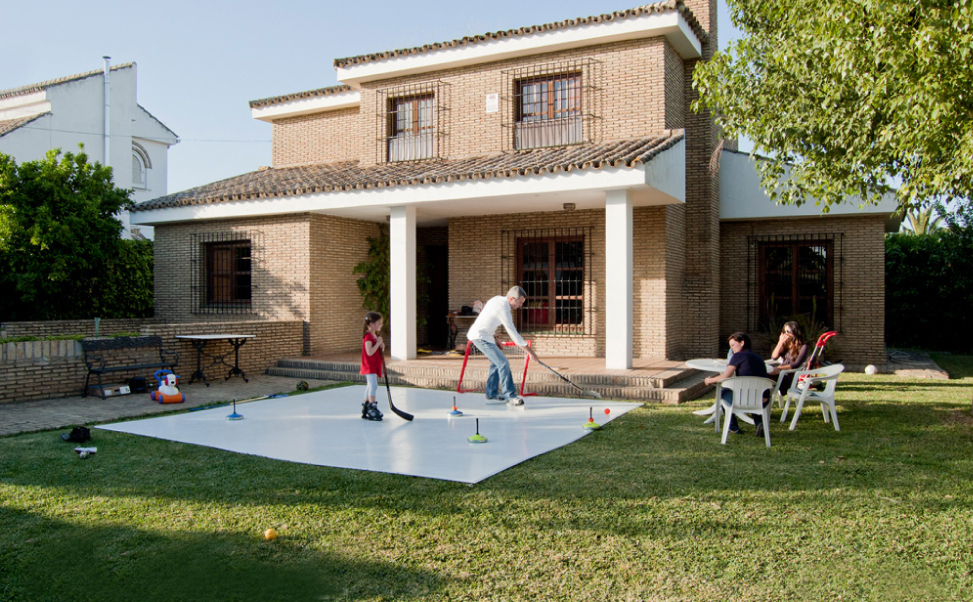 Xtraice home hockey rink