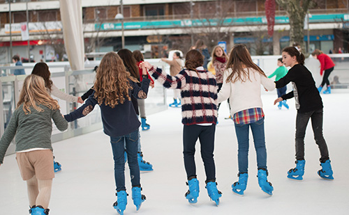 Buy an Xtraice synthetic ice rink, as an opportunity.