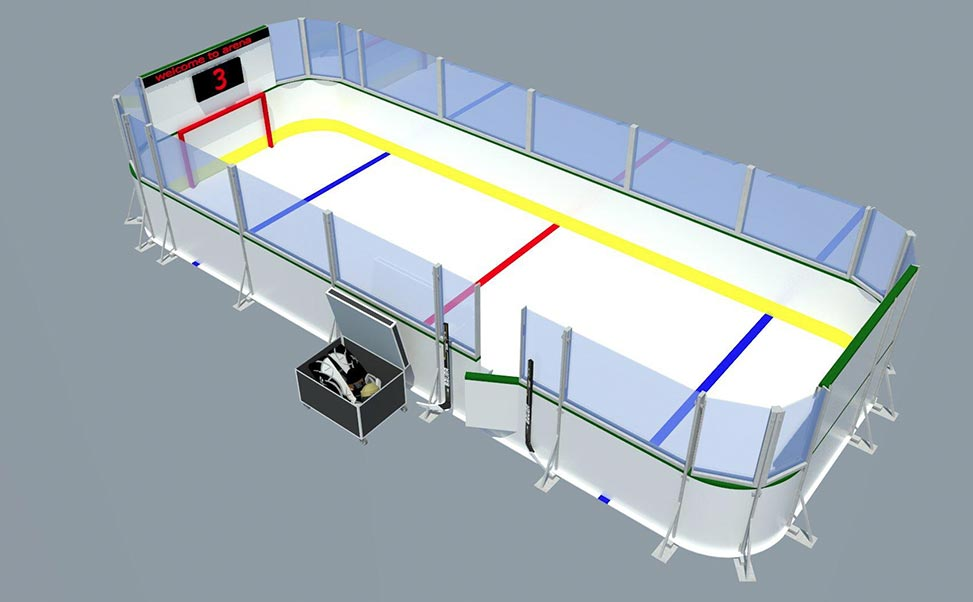 Xtraice Mini hockey arena