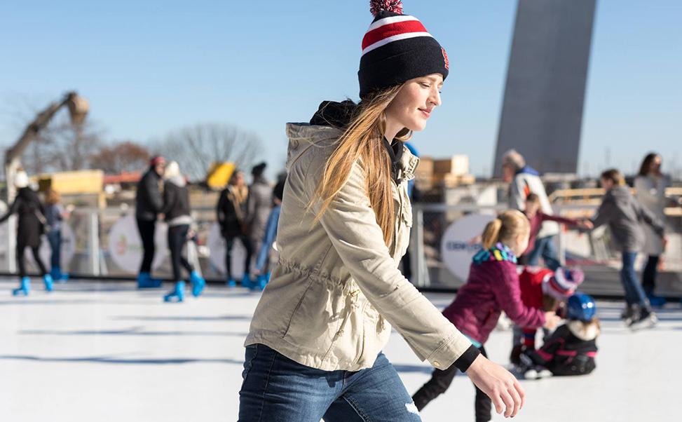 エクストラアイスのスケートリンク