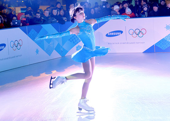 Xtraice synthetic ice for figure skating