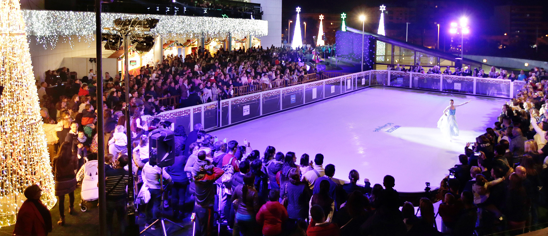 Synthetic ice skating rink rental | Price | How much does it cost?
