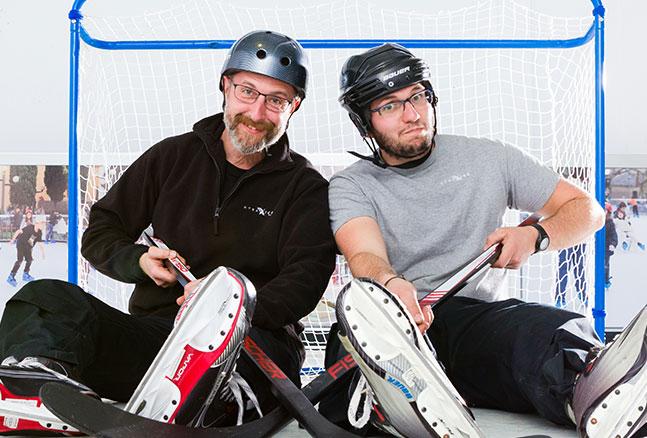 スケート関連機器管理担当