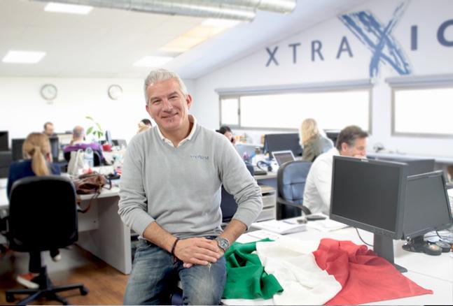 Équipe Xtraice en Italie
