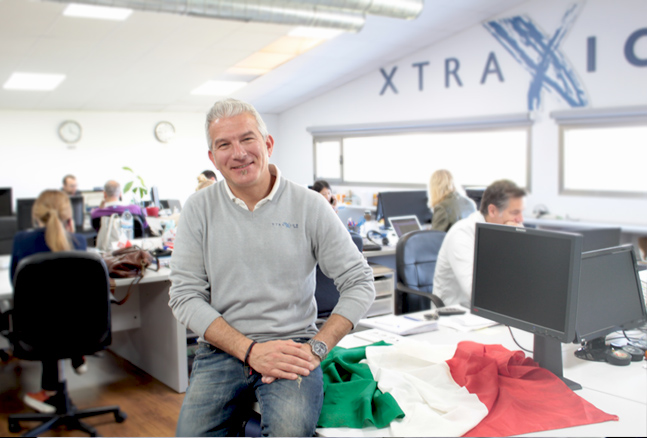 Xtraice team in Italy