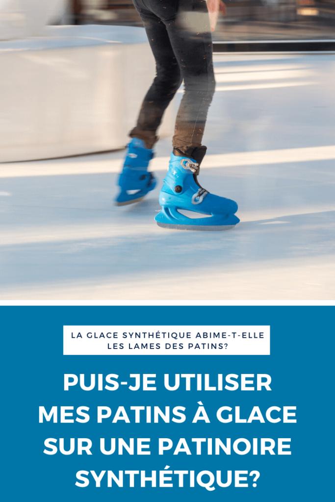 utiliser-patins-glace-patinoire-synthetique