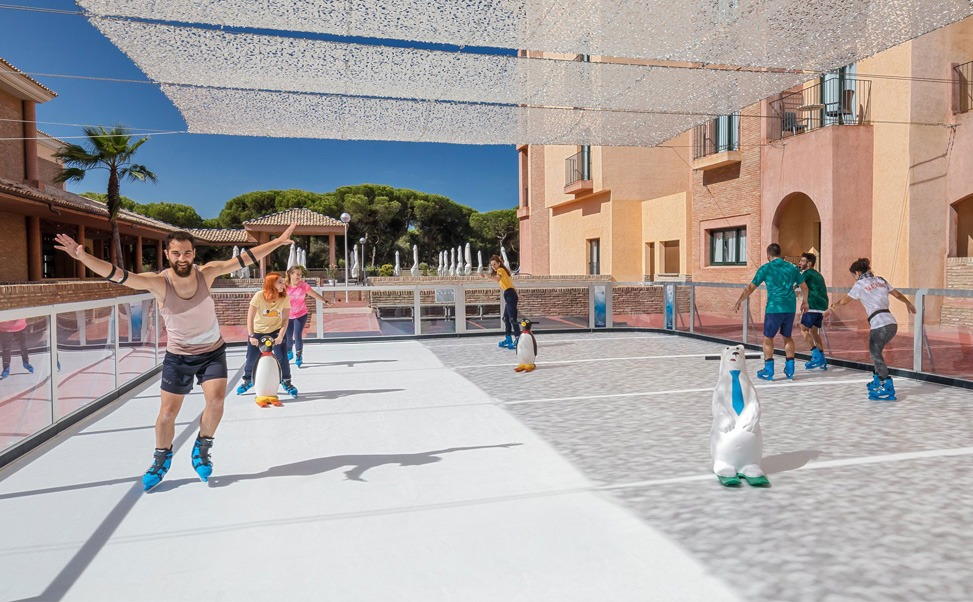A summer ice rink? Now it's possible!